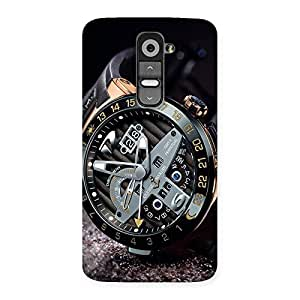 Ajay Enterprises Real Watch Cool Multicolor Back Case Cover for LG G2