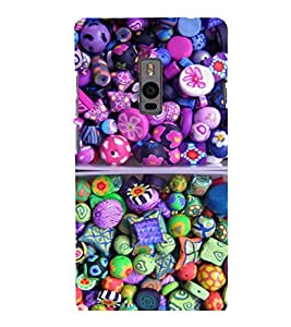 printtech Sweet Candy Back Case Cover for One Plus Two ::One Plus2