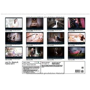Lara Ta - Beauty & Fashion 2014 (Wandkalender 2014 DIN A2 quer): Kalender mit Model u