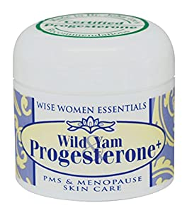 Best Wild Yam & Progesterone Cream-Paraben Free-Scent Free-All Natural-Liposome-No Animal Products-Bioidentical For Menopause and Peri-Menopause Comfort- Wise Women Essentials