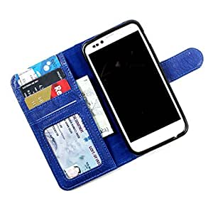 For Micromax Canvas Doodle 2 A240 - PU Leather Wallet Flip Case Cover