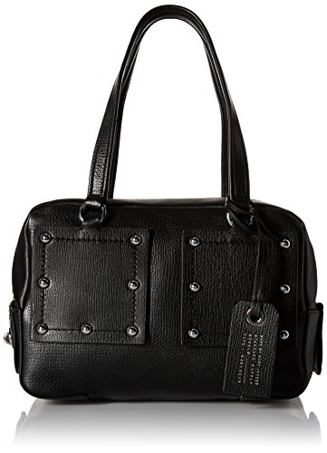 Marc By Marc Jacobs C-Lock Satchel Donna Nero