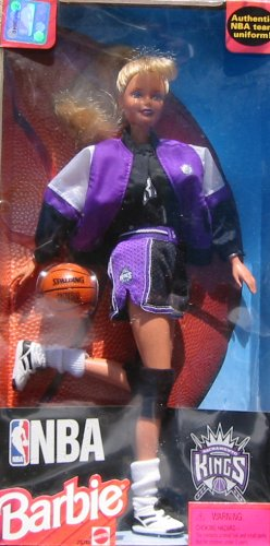 Sacramento Kings NBA Barbie