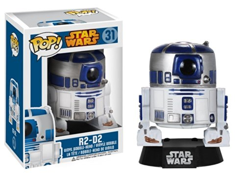 R2-D2: Funko POP! x Star Wars Vinyl Bobble-Head Figure w/ Stand - 1