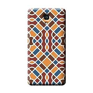 Garmor Geometric Pattern Design Plastic Backcover for Xiaomi Mi 4- (Geometric 2)