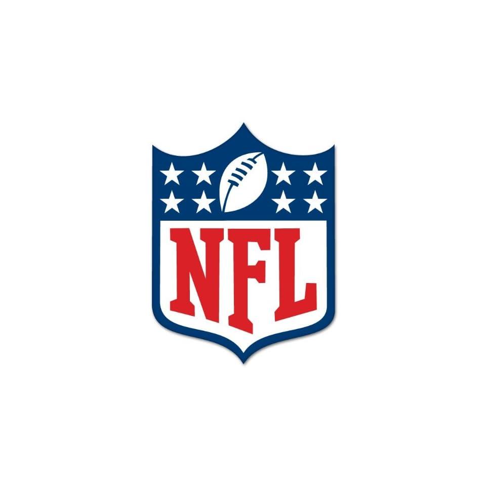 NFL National Football League Logo LARGE car sticker 8x 12