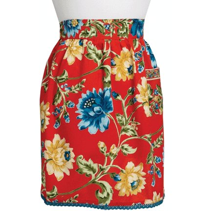 April Cornell Skirt Apron, Rosehip Rust