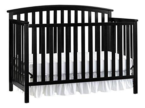 Graco Freeport 4-in-1 Convertible Crib, Black