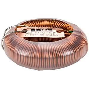 Jantzen Audio 10mH 14 AWG C-Coil Toroidal Inductor Crossover Coil