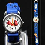 New FUN Finding Nemo & Dory Fish 3d Wrist Watch Girls Boys Childrens Disney