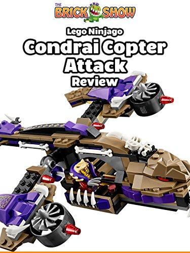 LEGO Ninjago Condrai Copter Attack 70746 Review