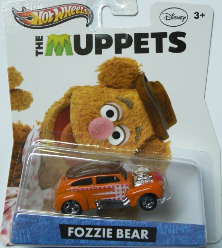 Hot Wheels Disney The Muppets Fozzie Bear - 1