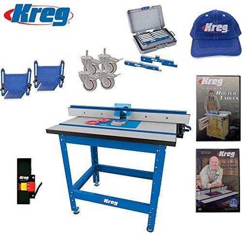 Kreg prs1045 precision router table built in micro - Kreg router table accessories ...