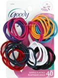 Goody Ouchless Medium Elastics 2mm, 40 Count