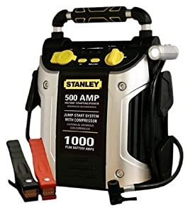 Stanley J5C09 500-Amp Jump Starter with Built-In Air Compressor from Stanley