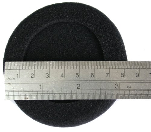Jnt'S (Diameter: 80Mm 3.15 Inch) (10 Pairs) Replacement Earpads Earfoam For Most Professional Over Ear Earphone