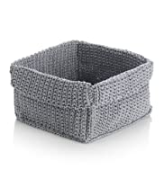 Square Knotted Handmade Basket [T36-3201-S]