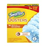 Swiffer Disposable Cleaning Dusters Refills, Unscented, 16-Count (Packaging May Vary)