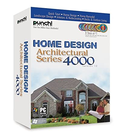 Punch! Home Design Architecural Series 4000 v.12.0