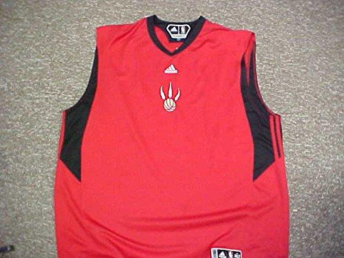 где купить  Will Solomon Toronto Raptors 2009 Adidas Sleeveless Shooting Shirt  по лучшей цене
