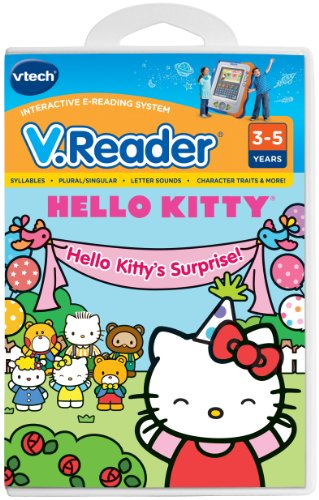VTech V.Reader Cartridge - Hello Kitty - 1