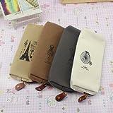 NEEWER Portable Linen Phone Pencil Pen Case Cosmetic Makeup Bag Pouch