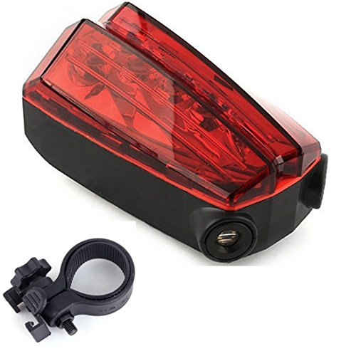Imperial 5 LED and 2 Laser Popular Bike Red Light Safety Lamp Rear Lighting Warning Cycling with Mount Clip (Imperial Flame Glass Cleaner compare prices)