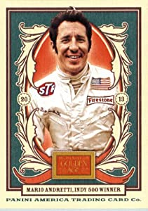 Buy 2013 Panini Golden Age Trading Card # 75 Mario Andretti by Golden Age
