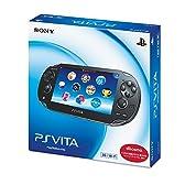 PlayStation Vita (プレイステーション ヴィータ) 3G/Wi-Fiモデル クリスタル・ブラック 限定版 (PCH-1100AB01)