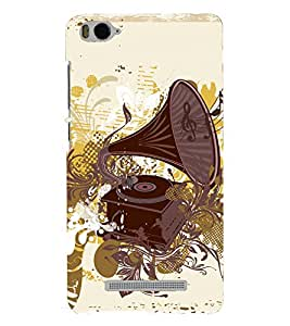 PRINTSHOPPII VINTAGE MUSIC Back Case Cover for Xiaomi Redmi MI 4C::Xiaomi Mi 4C