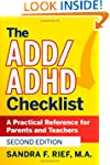The ADD / ADHD Checklist: A Practical...