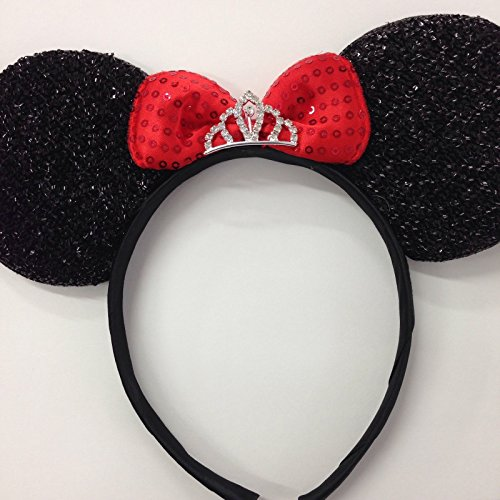 Minnie mouse princess ears headband/Disney princess ears