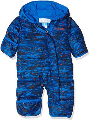 Columbia Snuggly Bunny Bunting-Piumino per bambini, Super Blue Print taglia: 24 mesi (taglia del produttore: 18/24)