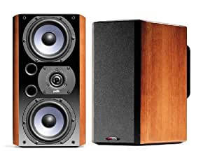 Polk Audio LSi9 Dual-Driver Bookshelf Speakers (Pair, Real Cherrywood Finish)