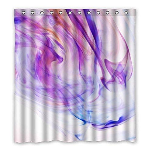 """167 cm x183 cm (66 """"x72"""") Bagno Tenda della doccia, fumo personalizzati Charme Contesto Design, personalizzati Materiali ecocompatibili muffa impermeabile cortina di Doccia"""