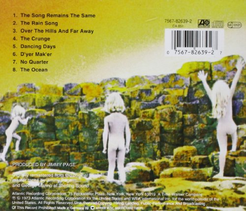 click to enlargeHouses Of The Holy Album Cover