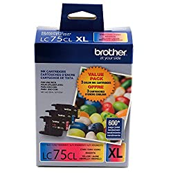 Brother International, High Yield XL 3 Pack (Catalog Category: Printers- Multi Function Units / Toner Cartridges)