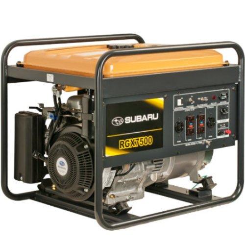 Subaru Rgx7500 Industrial Generator, 7500-Watt
