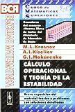 img - for C lculo operacional y teor a de la estabilidad: breve exposici n del material te rico y problemas con soluciones detalladas book / textbook / text book