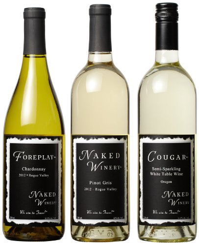 Naked Winery White Hot Trio Mixed Pack (Sold 2013 '12 Npg), 3 X 750 Ml