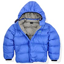 Molehill Kids Down Hooded Jacket(700 Down Fill), Celestial Blue(Silver Lining), 8/10 yrs