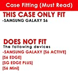 SAMSUNG GALAXY S6 Case, [NakedShield] [Matte] Ultra-Slim Jacket Cover Case - [Flux Capacitor] for SAMSUNG GALAXY S6