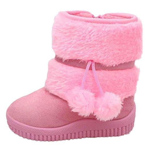 Tefamore Stivali Da Neve Neonata, Palla Cotone Balestruccio Stivale Inverno Caloroso Scarpe