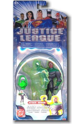 Justice League Attack Armor Green Lantern Figure - 1