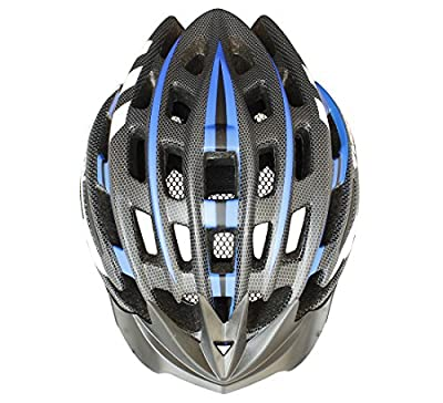 Moon Special Adult Sport Cycling Helmet In-Mold Tech,Mountain MTB&Road Dual Purpose with Removable Visor,Lightweight Design,EPS Carbon Fiber£¨Unisex Women Men£©[8.1 oz][31 vent] from Zhao Qing Bo Han Sports Company Ltd