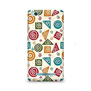 Motivatebox- Tribal Geometric Fusion Premium Printed Case For Xiaomi Redmi Mi5 -Matte Polycarbonate 3D Hard case Mobile Cell Phone Protective BACK CASE COVER. Hard Shockproof Scratch-