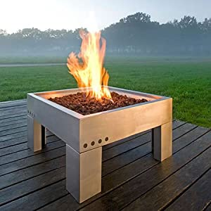 Modena gas fire pit garden outdoors for Amazon prime fire pit