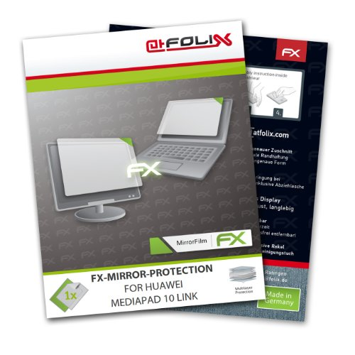 atFoliX FX-Mirror screen-protector for Huawei MediaPad 10 Link – Fully mirrored screen protection!