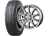 スタッドレスタイヤ145R12 6PR・ホイール1本セット 12インチ DUNLOP(ダンロップ) ウィンターマックスWMSV-01 145R12 6PR + INTER MILANO ゼファー BT10 (BEST) 1240 4/100 +42