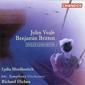 Britten - Veale : Concertos pour violon
